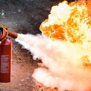B-Safe extinguisher